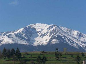 A nins la munte