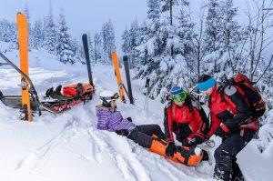 Efectele întâmplărilor tragice care au loc pe munte în sezonul rece